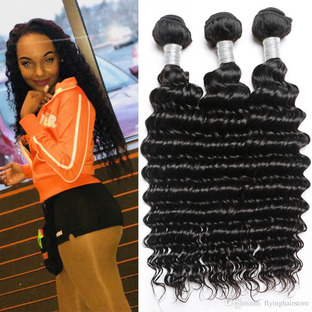 Funmi 3 Bundles Mongolischen Afro Verworrenes Lockiges Haar Mit Verschluss 100% Reines Menschenhaar Bundles Mit Spitze Schließung Für Haar Salon Haarverlängerung Und Perücken Haarsalon Versorgungskette