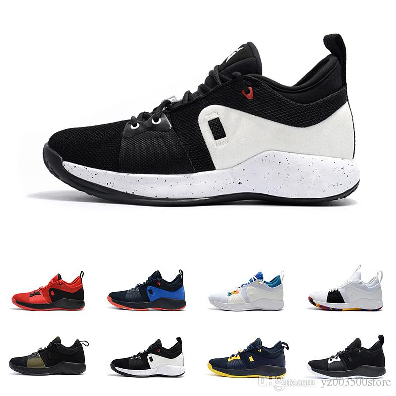 quality design a8eaf f0240 Hot Sale Paul George 2 II PG2 PG Playstation Basketball Shoes for Good  quality 2s Black White Green Men Training Sneakers Size 40-46