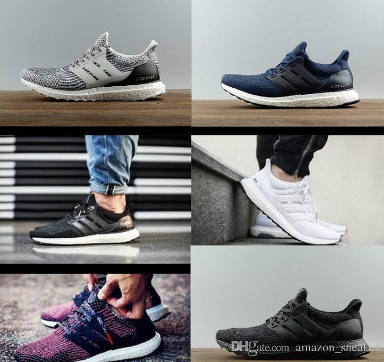 cheap online shop discount nicekicks Ultra boost 3.0 4.0 Run Shoes Men Women High Quality UltraBoost 3 III Primeknit Runs White Black Athletic Shoes eur 36-47 excellent for sale s60dCA58D
