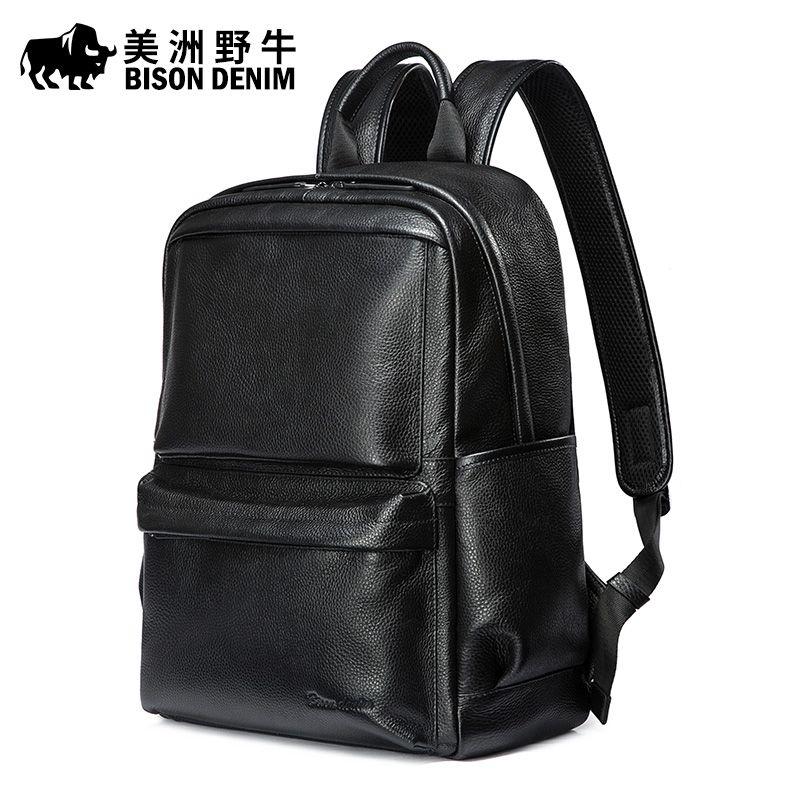 Calidad Alta Estilo Coreano Geuine Bison Denim Leather Compre tFq4vv