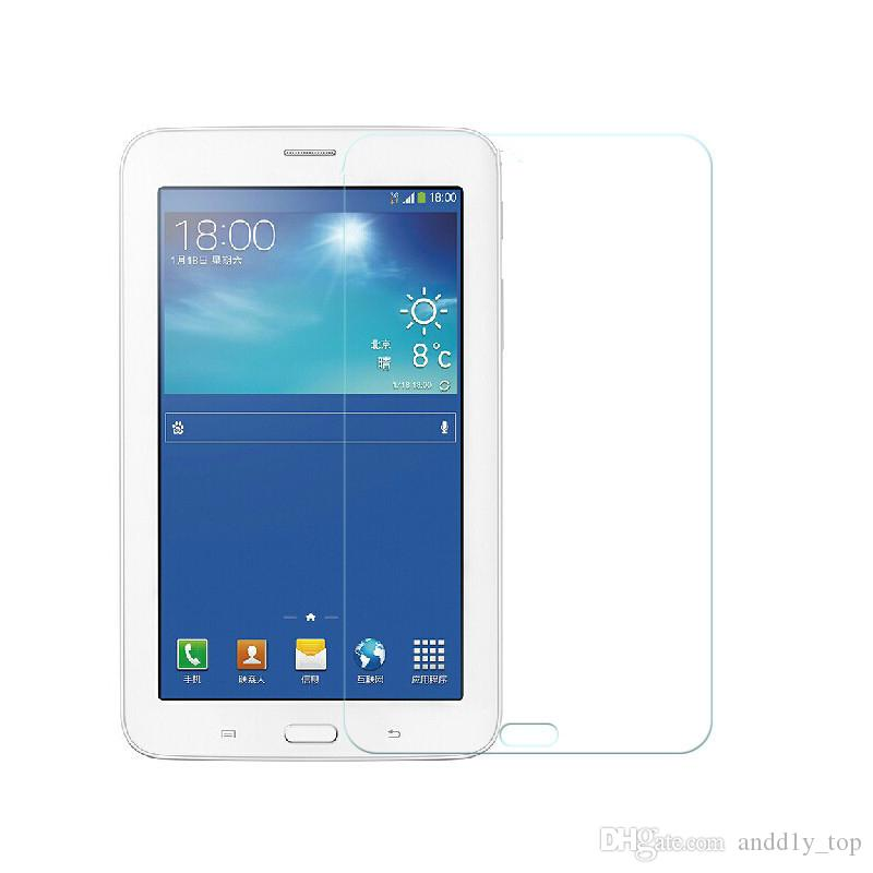 Tempered Glass Protector Film For Galaxy T380 T385 T560 P580 T580 T280 Tab S3 9.7 T820 T825 S4 10.5 T830 835 Tablet PC With Dust Absorb Wipe
