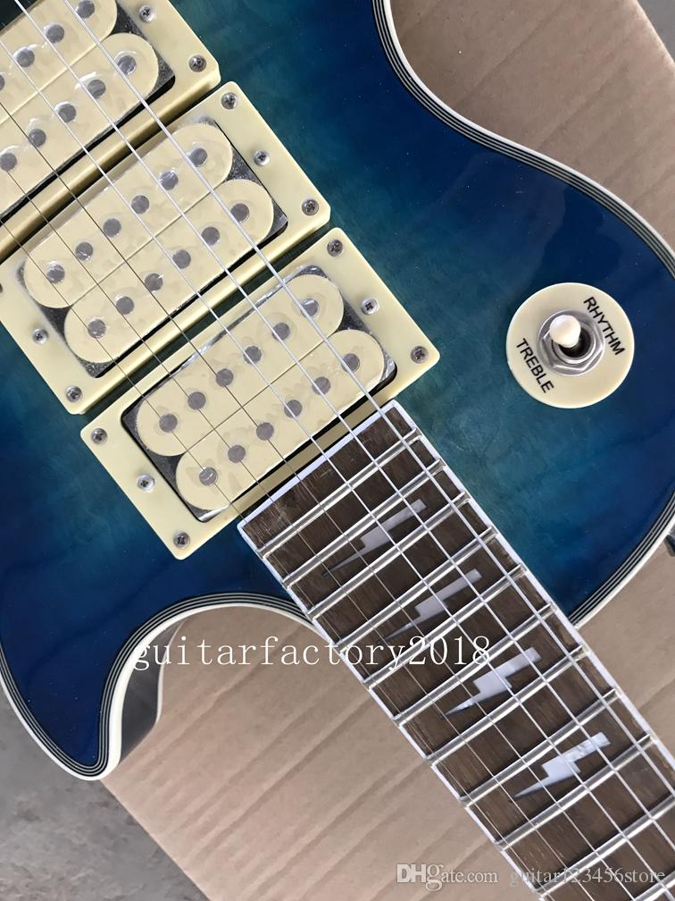 Factory custom shop 2018 New Top Quality Ace frehley signature 3 pickups Electric Guitar