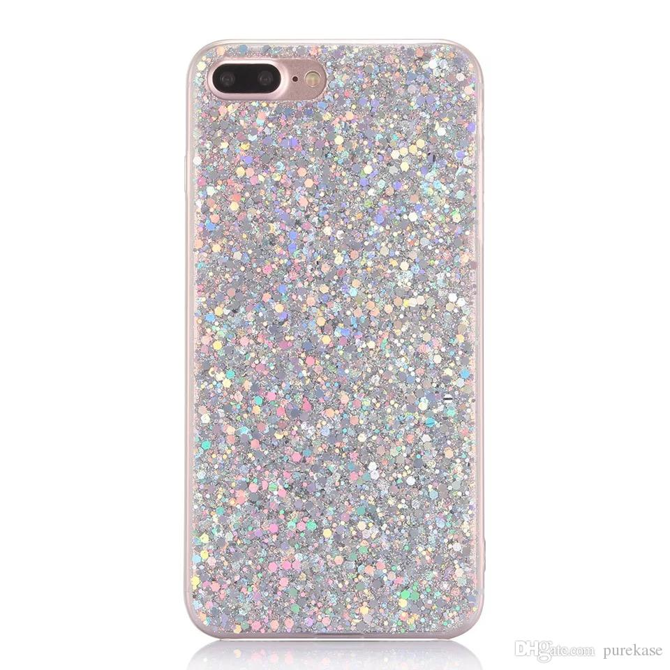 coque iphone 8 plus glitter