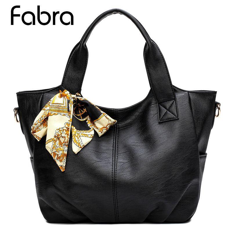 1c58db641e1 Fabra Fashion Women Handbag Female Soft PU Leather Bags Ladies Portable  Shoulder Bag Office Ladies Crossbody Bag Totes Luxury Bags Handbags  Wholesale From ...