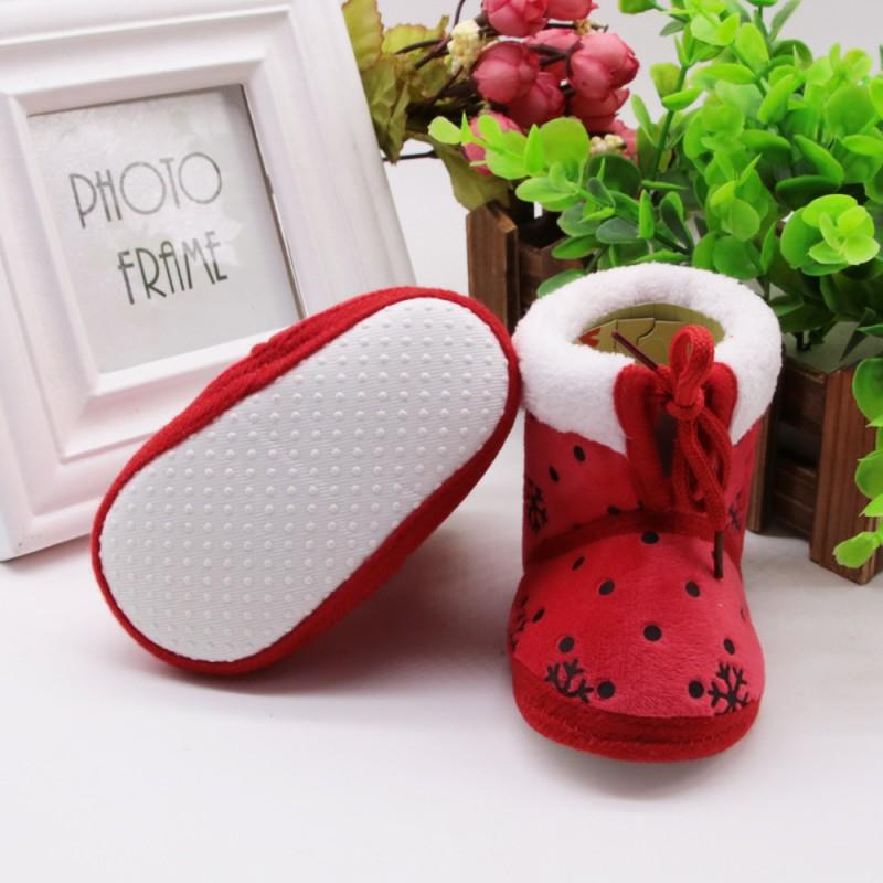 2018 Infant Toddler Baby Crib Shoes Baby Girls Soft Soled Winter Snow Boots  Newborn Kids Embroidery Warm Boots Girls Boots Size 8 Girls Size 12 Boots  From ... 89f6a61931e9
