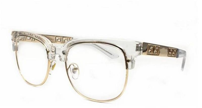 9aff35bcef86 Summer Style Italy Medusa Sunglasses Half Frame Women Men Brand Designer  100% Uv Protection Sun Glasses Clear Lens Leopard Print Fastrack Sunglasses  Smith ...