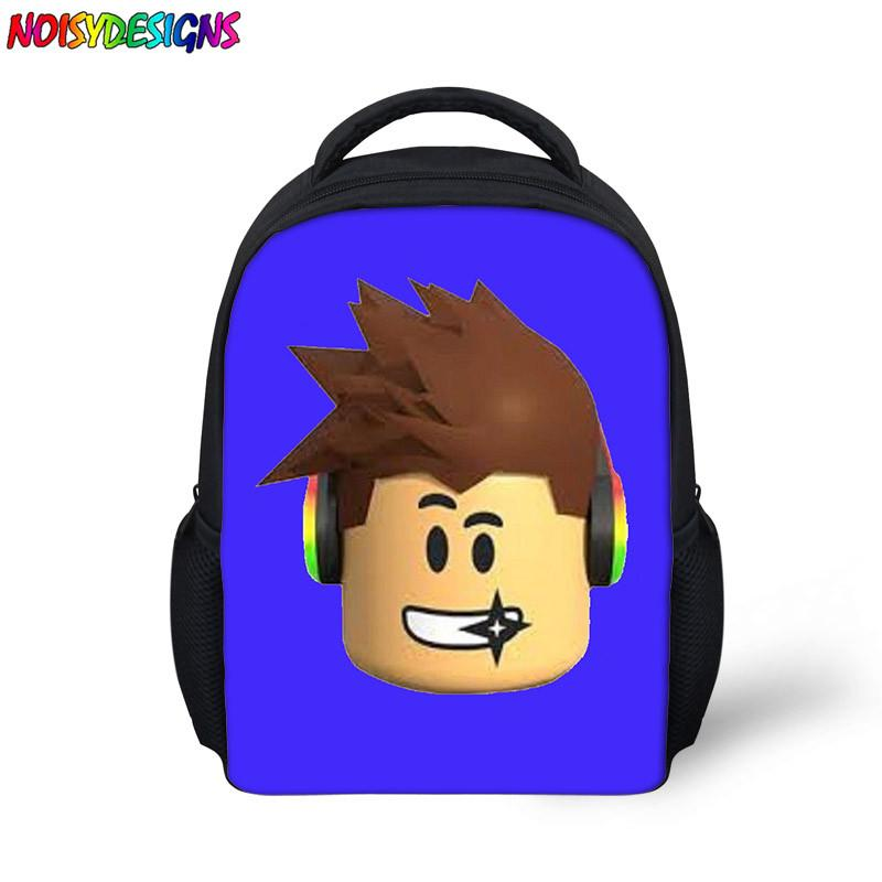 31f67d312b1 Roblox Game Casual Backpack For Kids Boys Girls Children Student School  Bags Travel Shoulder Bag Unisex Bags Rugzak Book Bag Black Leather Backpack  ...