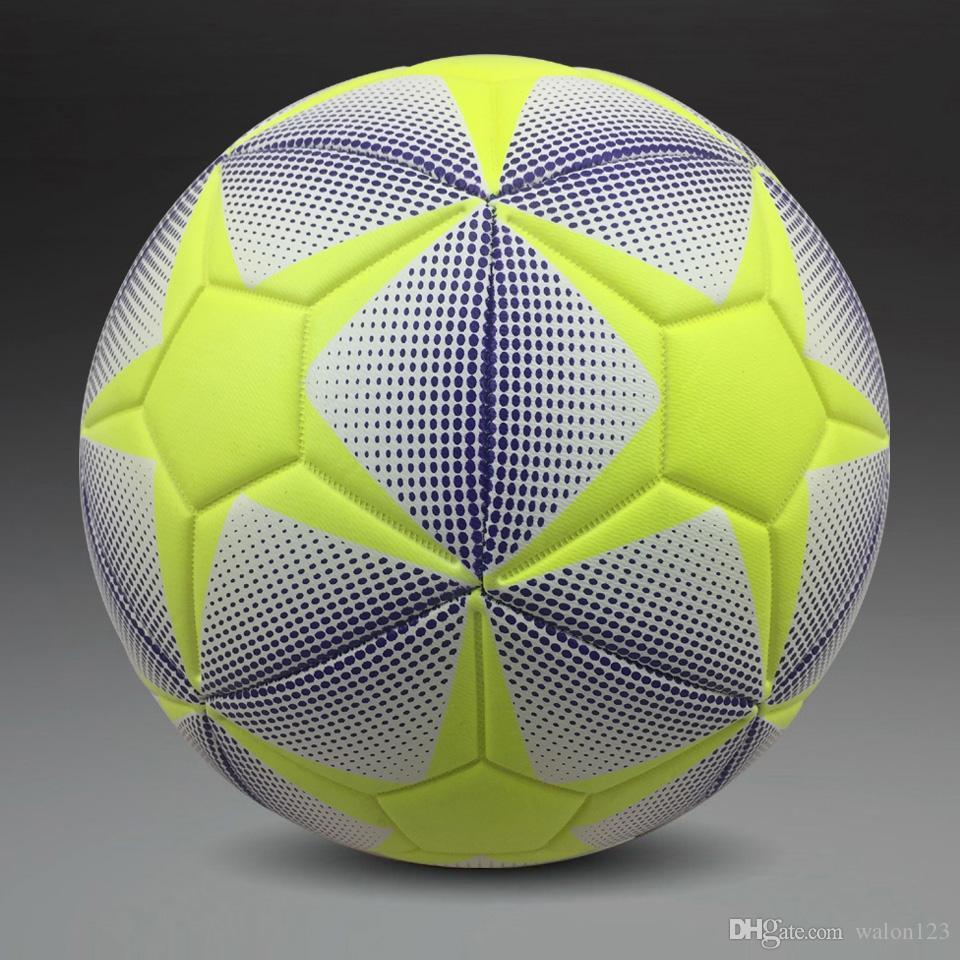 새로운 브랜드 높은 품질 표준 축구 공 PU 축구 공 교육 공 축구 공식 크기 5 및 크기 4 공 무료 배송