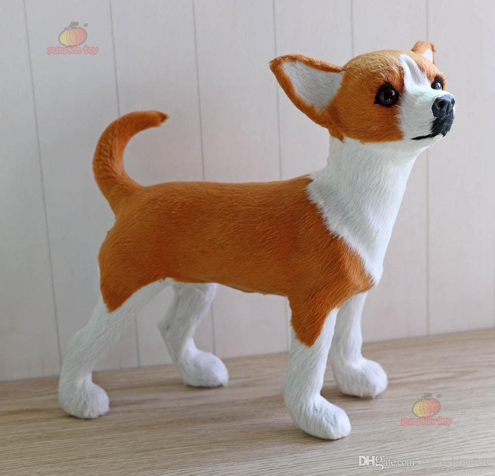 Chihuahua Dog Pet Learning Resources Miniature Plush Stuffed Animal