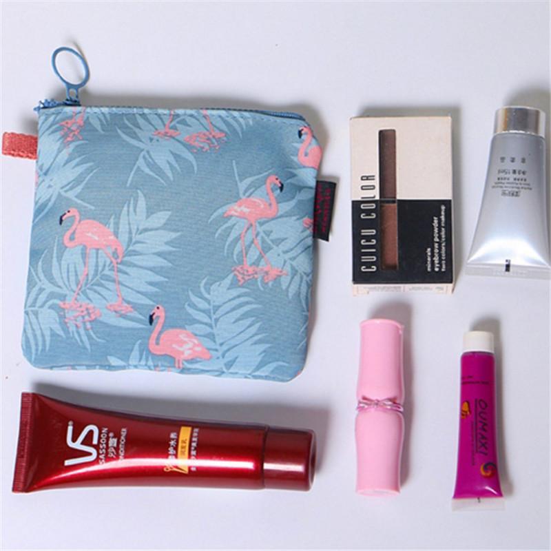 Tragetaschen Segeltuch Sanitary Pads Tasche Portable Zipper Sanitary Serviette Aufbewahrungstasche Sewing Kit Home Geldbörse Kreditkartenetui Taschen ...