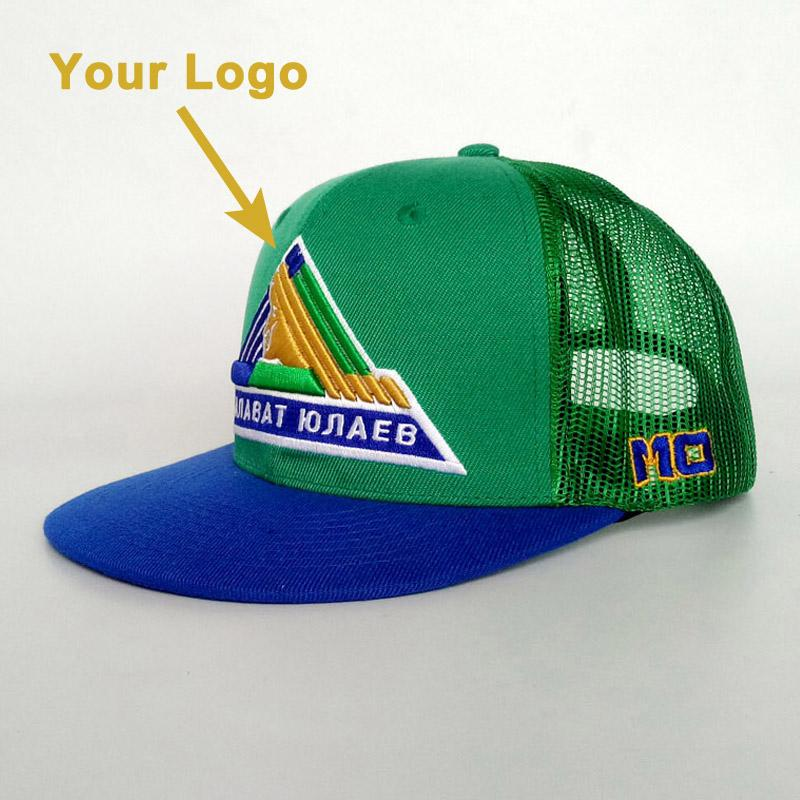 Mesh Cap Flat Visor Unisex Sun Hat Sizable Promotion Popular Trucker Hat  Snapback Close Custom Baseball Hats Caps Cap Store Custom Fitted Hats From  ... 2f20026aea1