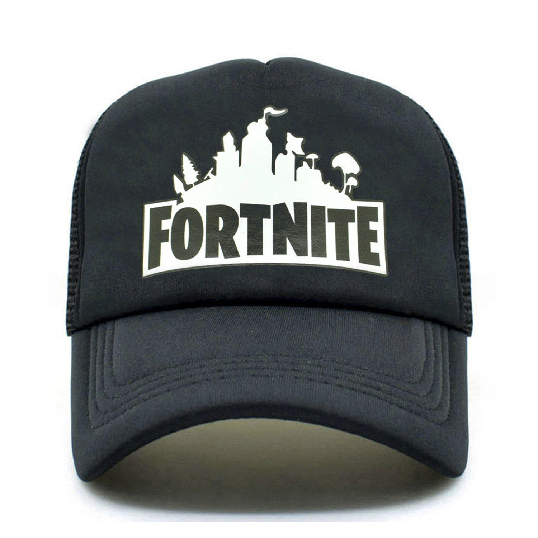35d54c9b8e1c0 Fortnite Trucker Cap Hat Hot New Game Fortnite Fans Cool Mesh Caps Summer  Baseball Net Trucker Caps Hat For Men Women Hatland Brixton Hats From  Maxcomet