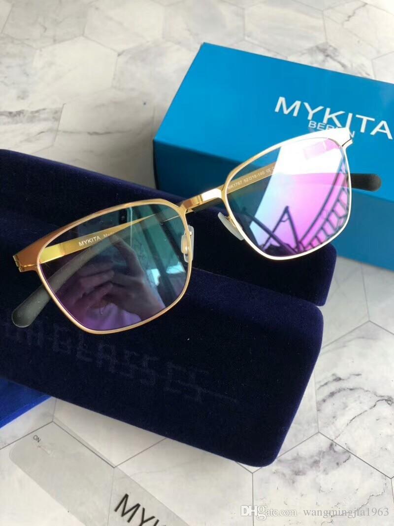 New Mykita 1767 Sunglasses for Man Pilot Frame with Mirror ... ec339341f2b18