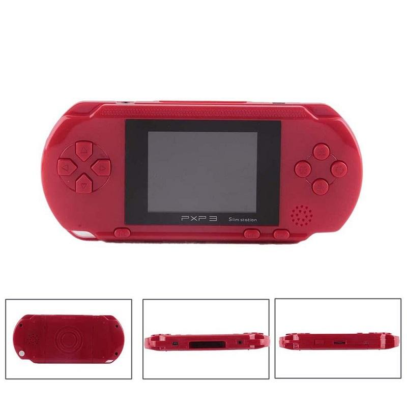 PXP3 Handheld Mini Video Game Console 16 Bit PVP TV-Out Games For PXP Card Station 16bit Gaming Games Console Player Kids Birthday Gift