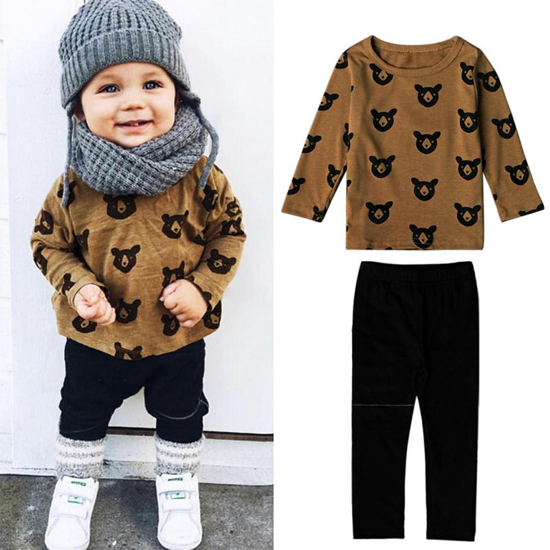 00b5be13375a 2019 Newborn Little Kids Boys Clothes Set Baby Boy Clothes Fashion Toddler  Baby Clothing