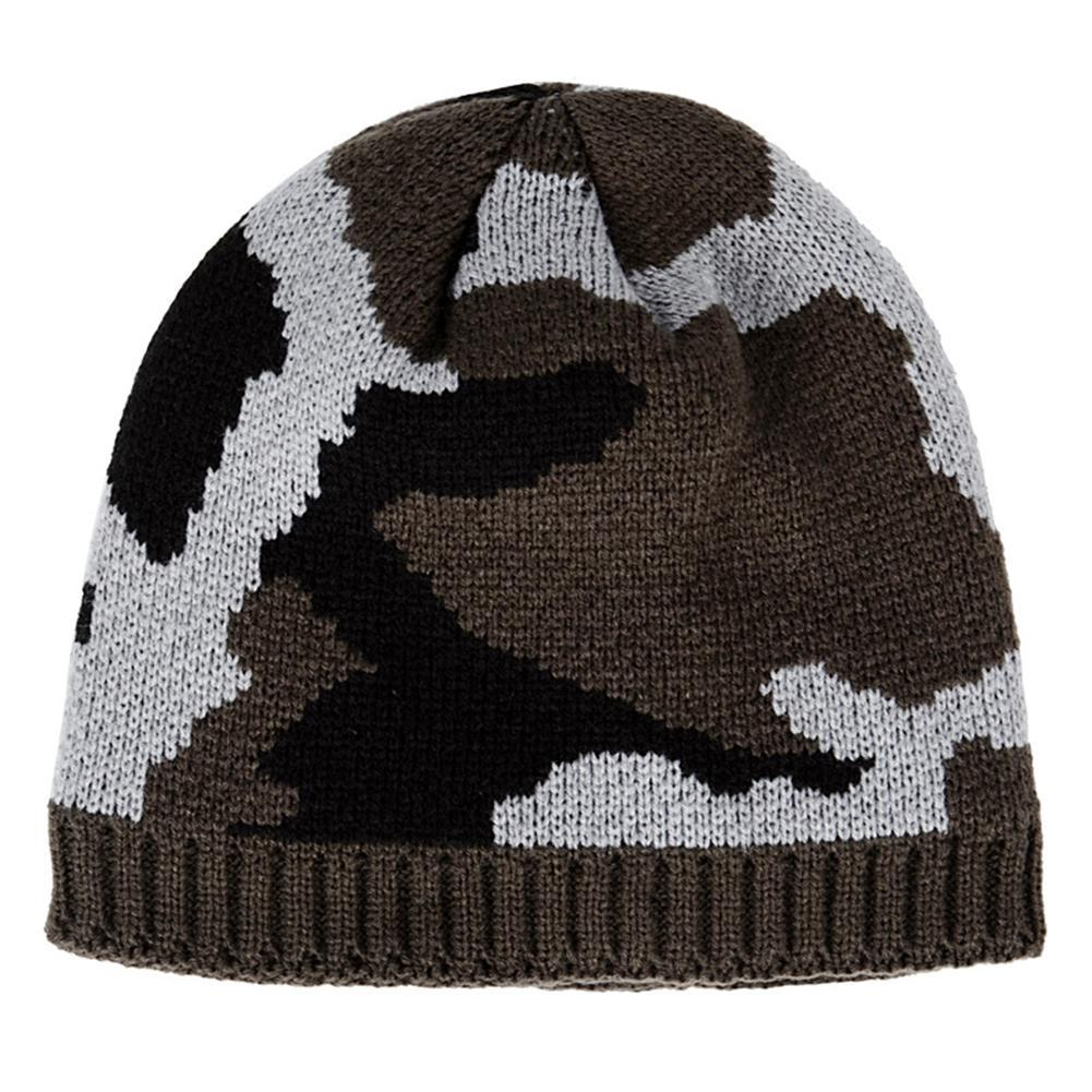 061678e62248e 2019 Winter Hat Thickened Fleece Lining Army Camouflage Sports Knitted Hat  Outdoor Velvet Warm Beanies For Winter Climbing Fishing From Comen
