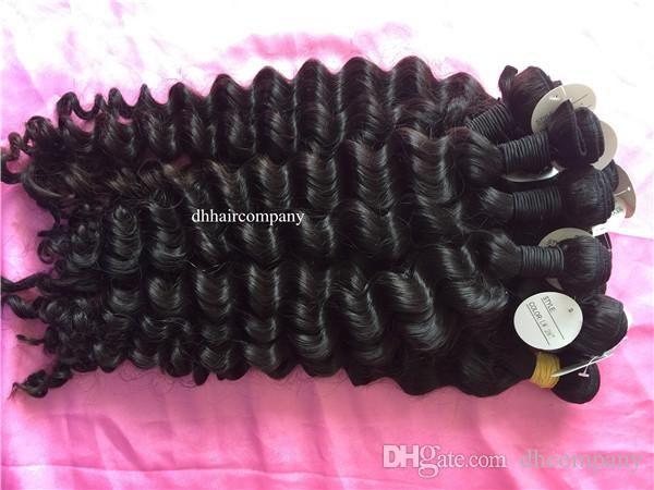3 Bundles Peruvian Virgin Hair Weaves Ocean Wave Raw Indian Virgin Hair Unprocessed Raw Cambodian Hair Extensions