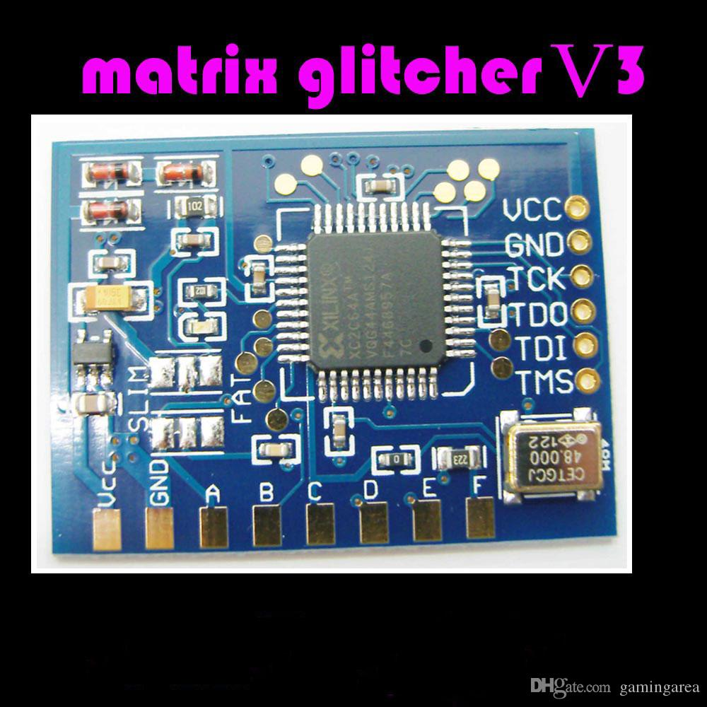 New Matrix Glitcher V3 Corona Module for XBOX 360 & X360 Slim Motherboard  Big IC Chip DHL FEDEX EMS FREE SHIPPING