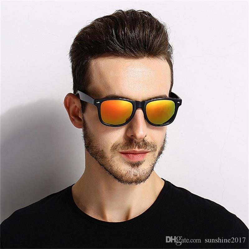 c971ffc36 Compre Barato Quadrado Polarizado Óculos De Sol Da Marca Designer Clássico  Das Mulheres Dos Homens De Condução Preto Óculos De Sol Masculino Goggle  UV400 ...