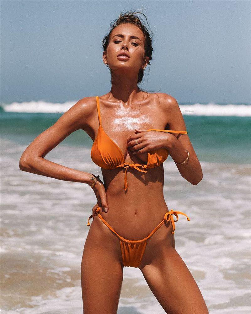 Cheeky girl bikini