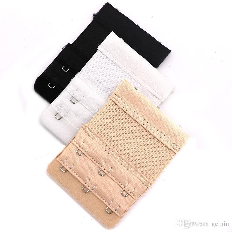 Acheter Elastic Bra Extenders 3 Crochets 2 Rangées Soutien Gorge Elastique  Extensible Réglable Extender Crochet En Acier Inoxydable Boucle De  23.19  Du ... d9a0b12bc99