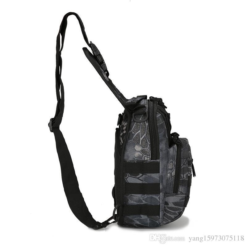 Outlife Hotsale i 600D militare zaino tattico spalla campeggio trekking borsa mimetica caccia zaino utility
