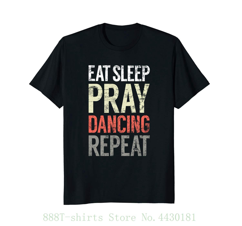 a8b3686099485 Women s Tee Eat Sleep Pray Dancing Repeat