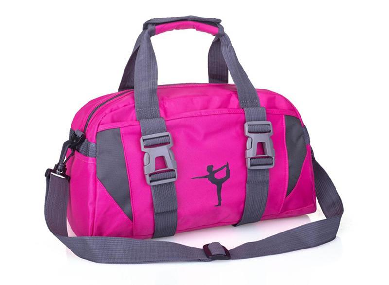 aff8c82b69 Fitness Yoga Bag Waterproof Nylon Training Shoulder Crossbody Sport ...