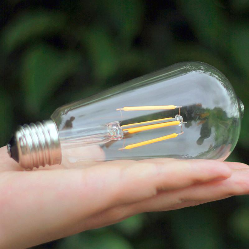 Led Lampe Chaud Blanc Incandescence Super D'énergie Ampoule Lumineux 4w6w8w Spire Transparent Rétro Économie Personnalité À E27 mN0w8nOv