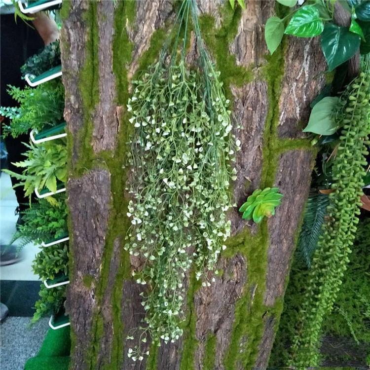 Yapay Ivy Yaprak Yapay Bitkiler Yeşil Garland Bitkiler Vine Fake Yeşillik Ev Noel Düğün Dekorasyon c408