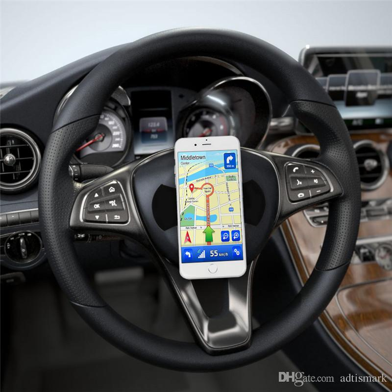 Venta al por mayor Flourish Lama soporte para teléfono pegatina zócalo Nano goma Pad soporte de coche soporte soporte multifunción soporte para teléfono celular