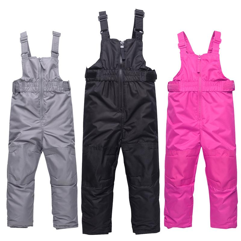 ac8dc04351 2019 Winter Girls Ski Pants Windproof Overall Pants Tracksuits For Children  Waterproof Warm Kids Boys Snow Ski Trousers Snowboarding From Hcaihong