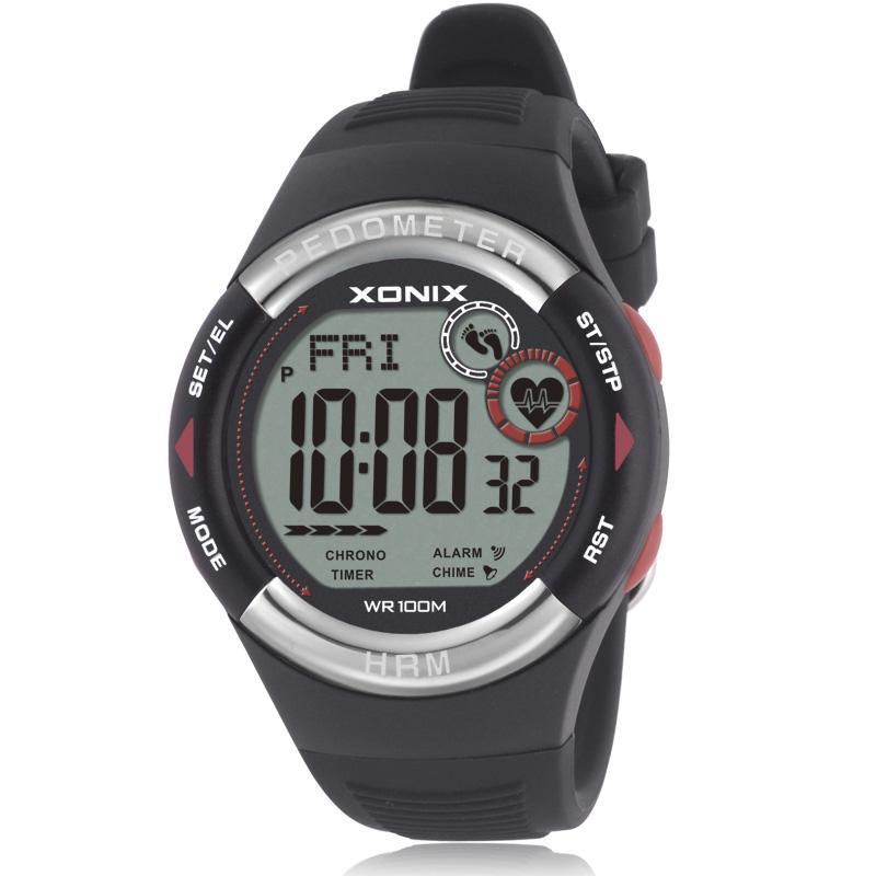 c7d5590de1c9 Compre XONIX Mens Podómetro Calorías Reloj Reloj De Pulso Deportivo Reloj  De Pulsera Digital Corriendo Mujeres Reloj Al Aire Libre Unisex A  96.78  Del ...