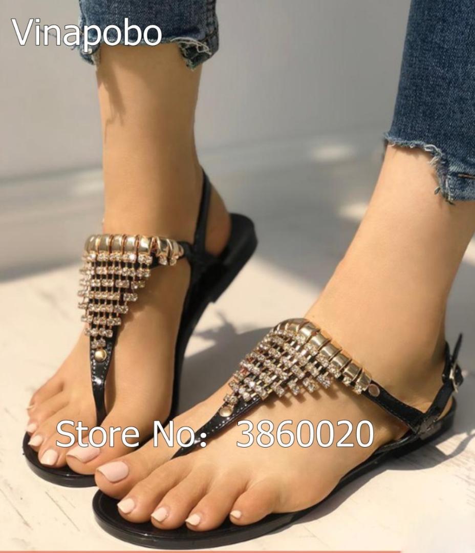 Sandalias Cadenas Zapatos Compre Mujer De Diamantes LpjSqzMVGU