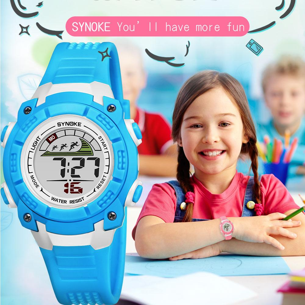 Children Kids Watches Girls Boys Watches Analog Digital Sport Led Electronic Waterproof Wrist Watch New Montre Enfant Children's Watches