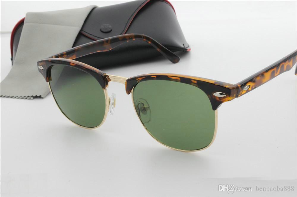 Metall Randlos Sonnenbrille Art Und Weise Großer Rahmen-Sonnenbrille,A3