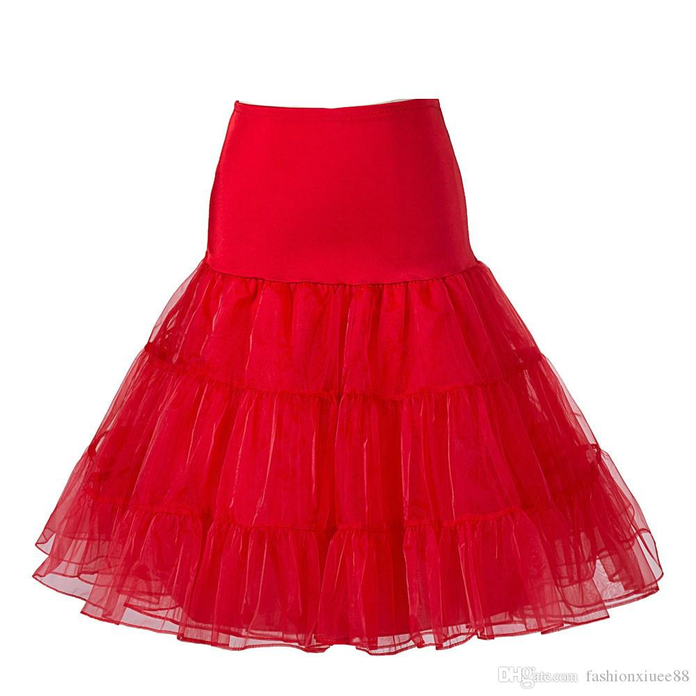 Top Sale Short Tutu Petticoat Crinoline Vintage Accessories Wedding Bridal For Dresses Underskirt Rockabilly Petticoats Junction: Wedding Dress With Red Accesories At Websimilar.org