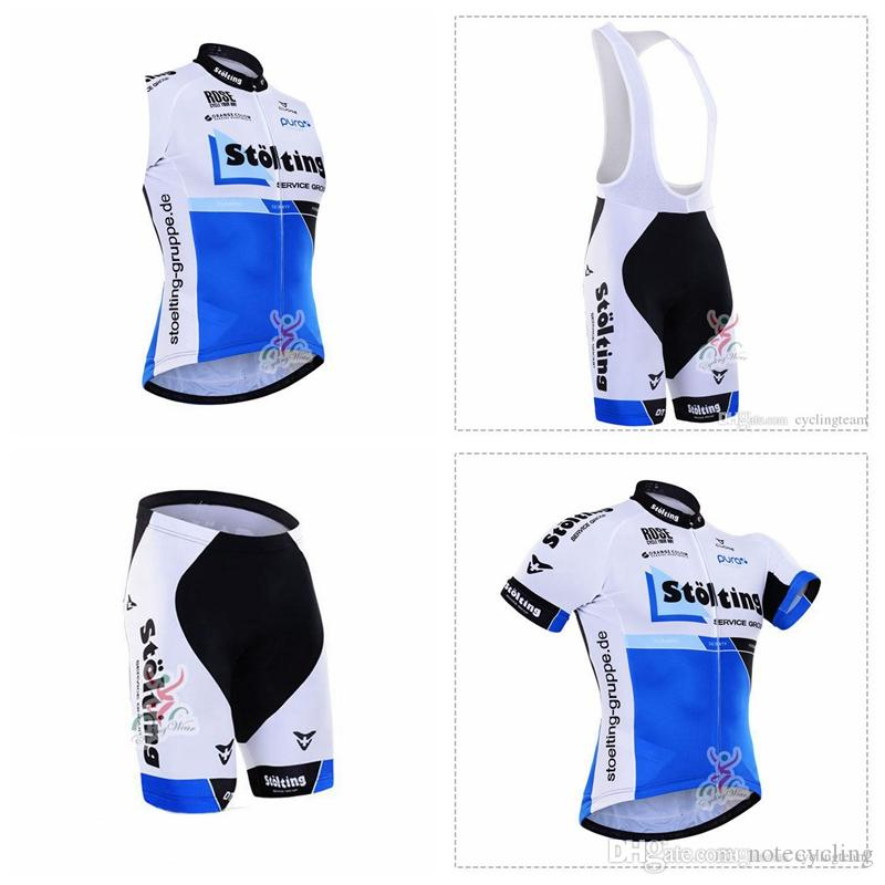 STOLTING Cycling Short Sleeves Jersey Bib Shorts Sleeveless Vest Sets 2018  Hot MTB Ropa Ciclismo Bicicleta Summer Maillot Wear A41823 Cycling Shorts  Men ... f74b335ec