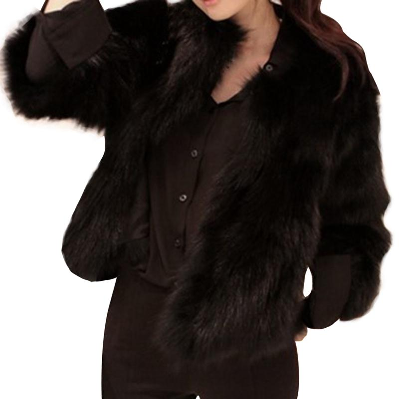 343c387a1b17 Women 2018 Faux Fur Coat Feather Fur Winter Jacket Retail Black Wholesale  Top Quality Warm Jackets Long Jackets From Whitecloth