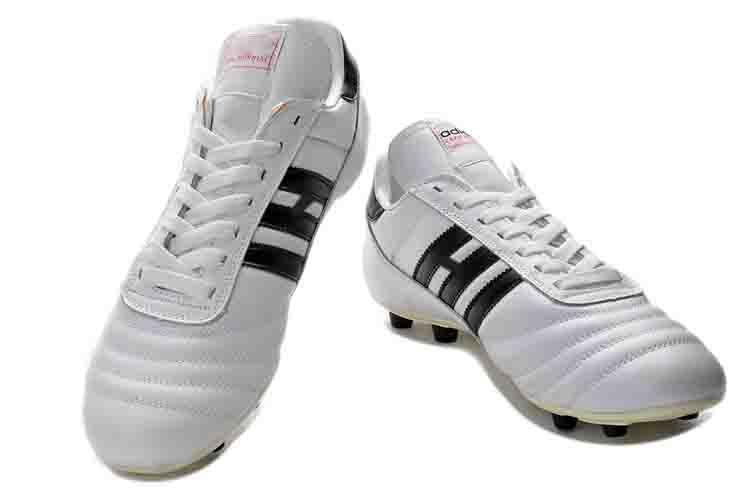 أصلي Copa Mundial Black White Cleats FG Soccer Shoes for classic صنع في ألمانيا جلد 2019 World Cup Football Boots