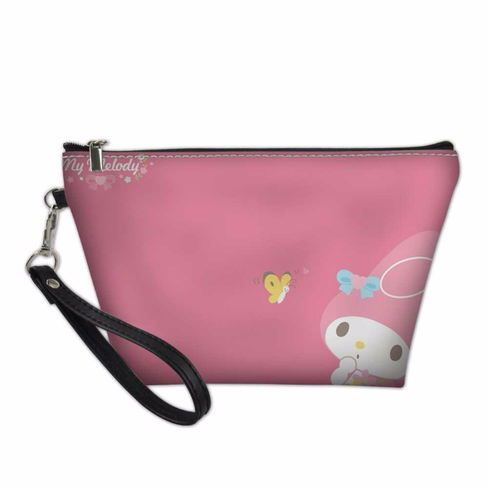 My Melody Print Pencil Box Case Cosmetic Bag large Pencil Case Pouch Bag  Pen Holder School Supply Boys Girls color random