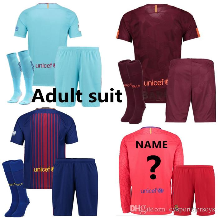 Best Quality Best Quality Barcelonas Men Soccer Jersey Messi Suarez Dembele  Jr A.Iniesta Pique Barcelonaes Alba Home Bar Football Shirt At Cheap Price,  ...