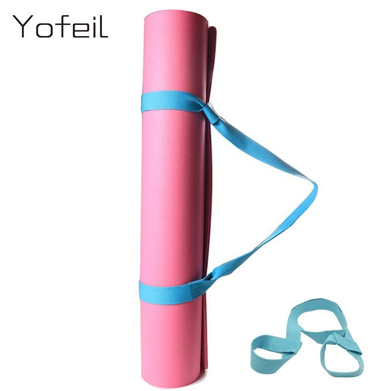 Acquista Yofeil Elastico In Cotone Antiscivolo Yoga Mat Sling Strap Multi  Funzionale Fitness Sports Gym Cintura Di Esercizio Yoga Cinture A  33.06  Dal ... 6451117e8336