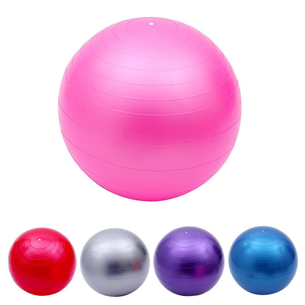 05f5be50d Exercise Yoga Ball For Balance Stability Workout Fitness Anti Burst 75cm  Thickened Exercise Ball For Women And Men Pink Abdominal Ball Exercises  Exercise ...