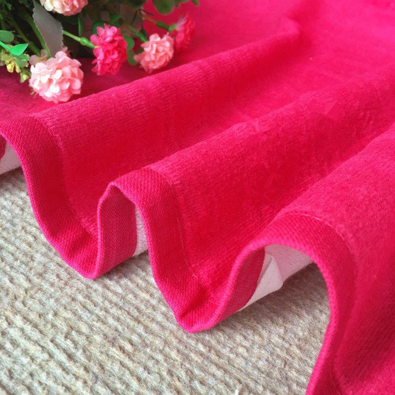 Swim beach towel Cotton towel wholesale European fan printing simple striped letters absorbent adult swim beach towel