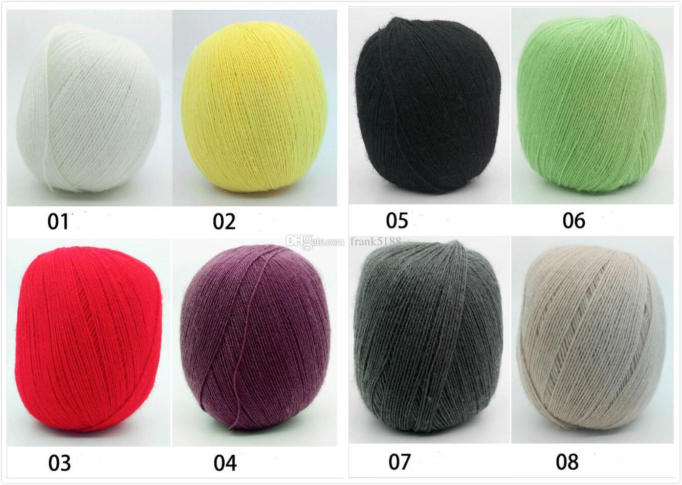 50g/ball Hand knitting Wool Yarn Dyed Acrylic Cashmere Bulky Yarn Crochet Thread For Baby Clothes Super Chunky Wool Yarn