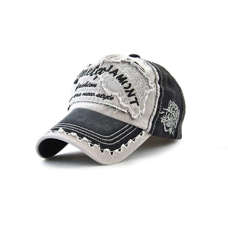 Retro Snapback Hat Girls Baseball Caps Old Fashion Cotton Denim Letters  Embroidery Men s Cap Hip Hop Street Wear Unisex Ny Cap Mens Caps From  Juaner 72a677d4194