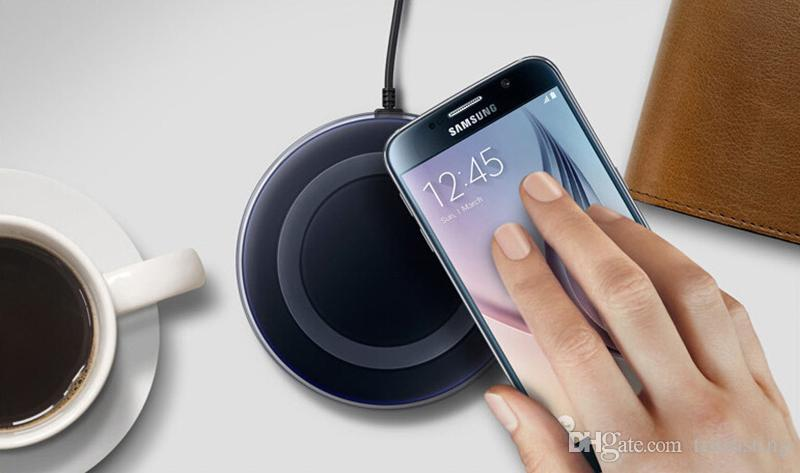 High Quality Universal Qi Wireless Charger Charging For Samsung Galaxy s7 Edge s8 plus note8 iphone 8 X mobile pad with package MQ50