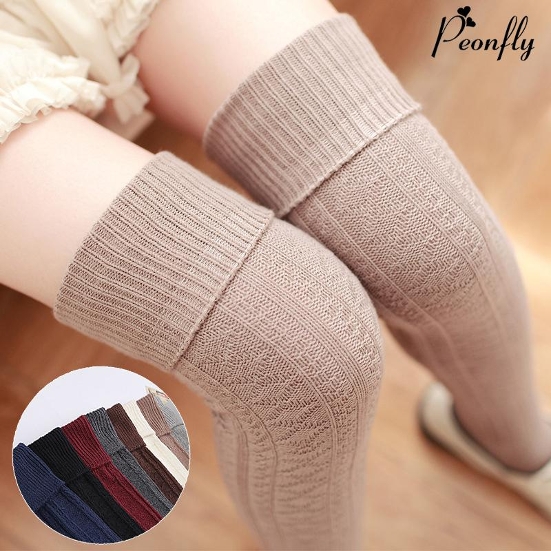 a2f86c7f5a7 2019 Thickness Women High Quality Needle Cotton Knee High Long Tube Sexy  Thigh Stockings Pantyhose Hosiery Winter Autumn From Ladylbdcloth