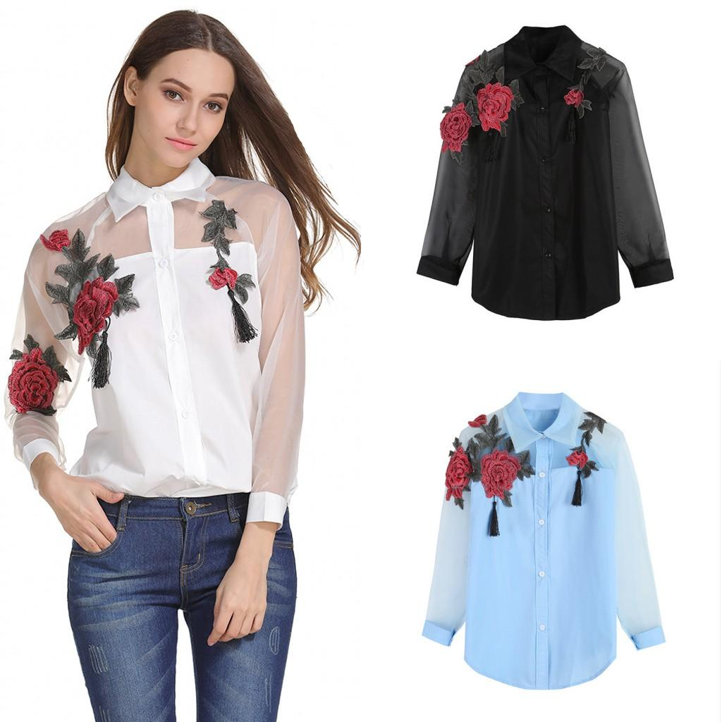 faf2db7943b2d Plus Size 2018 Summer Fashion Women Clothes With Flower Embroidered ...